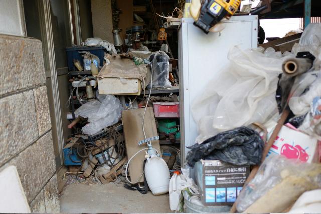 足立区不用品回収ライジング|屋外解体物 回収品目例
